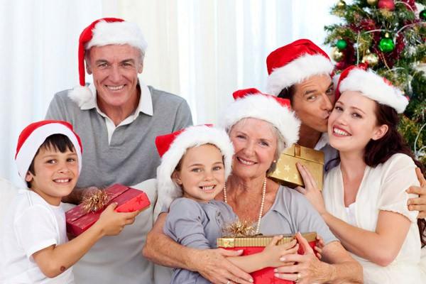 Você gosta de passar o Natal em família?