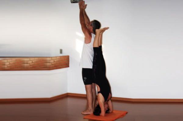 Yoga para praticar a dois