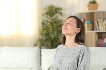 Técnicas de respiração para mães