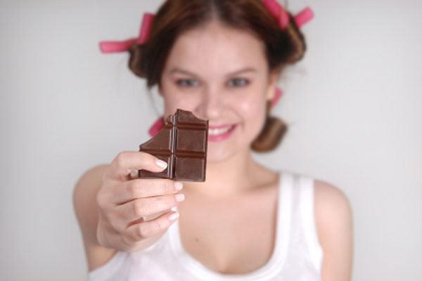 Chocolate para os cabelos