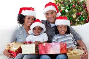 Família mais unida no fim de ano