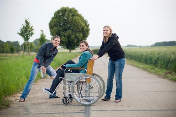 Luta a favor dos deficientes