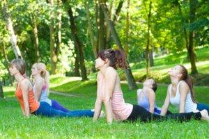 Pratique Pilates no verão