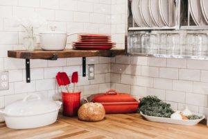 feng shui cozinha vermelho