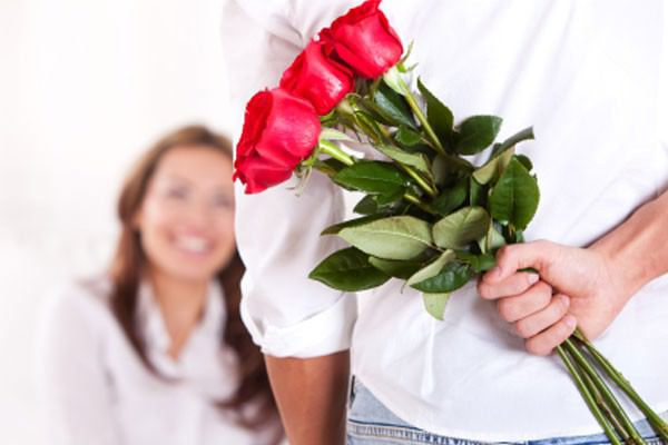 Flores podem estimular romance