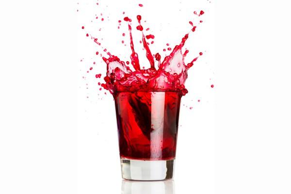 Receita de drinque refrescante de hibisco