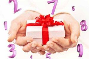 Numerologia ajuda a escolher presente ideal
