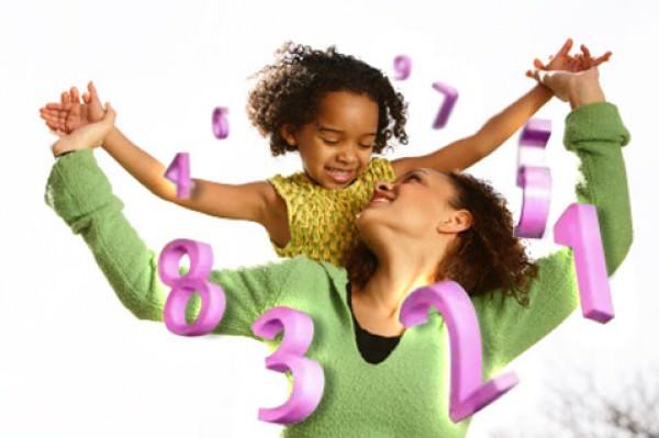 Numerologia para mães e filhos