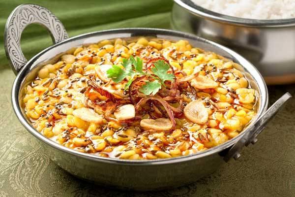 Receita de curry expresso de lentilha