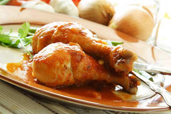 Receita de frango assado na mostarda