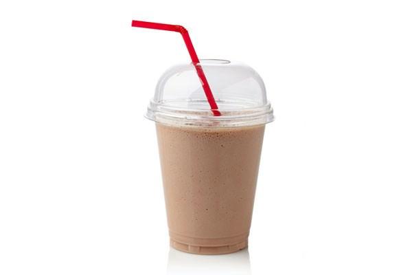Receita de milkshake de chocolate contra TPM
