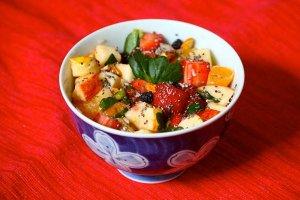 Receita de salada de frutas do verão