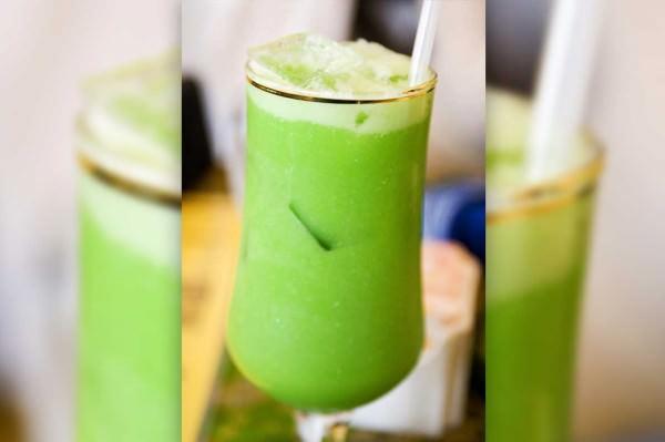 Receita de suco verde com água de coco
