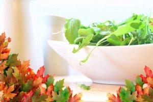 Alimentação com cara de outono
