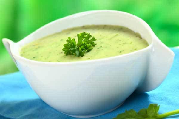 Receita saudável de caldo verde