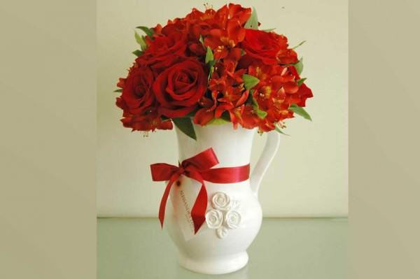 Dicas de arranjos de flores para decorar a casa