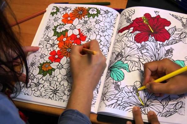 livros de colorir não são arteterapia personare