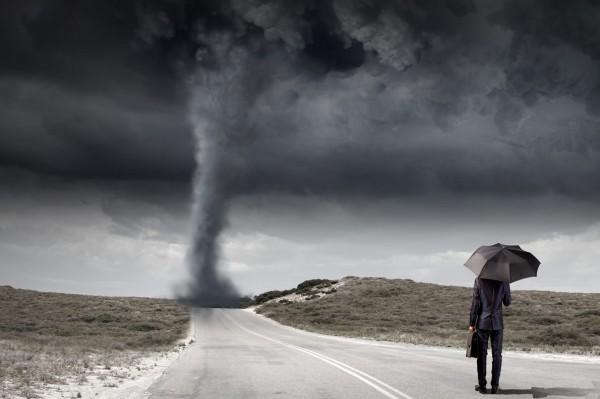 Você se deixa contaminar pelo atual momento de crise mundial?