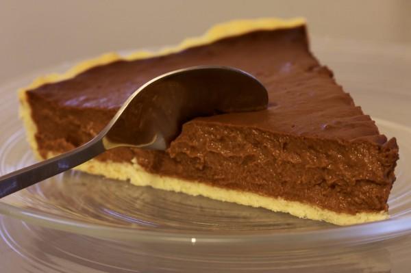 Receita de cheesecake de chocolate não vai ao forno