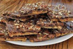 Receita de quadradinhos de avelã, chocolate e mel