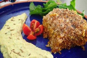 Receita vegana: quibe de abóbora com creme de grão de bico