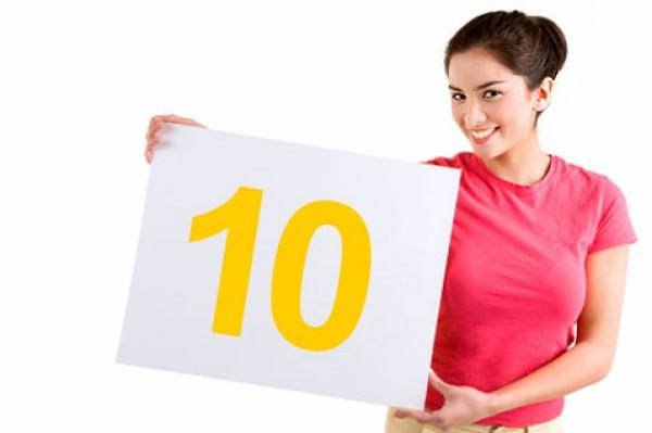 Não é preciso ser nota 10 em tudo