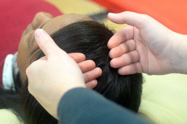 Barras de Access elimina comportamentos negativos com toques na cabeça