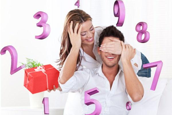 Presentes para namorados com base na Numerologia