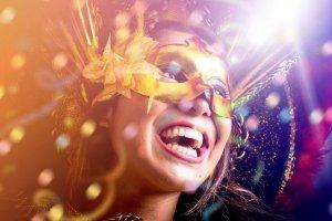 Cromoterapia para fantasia de carnaval