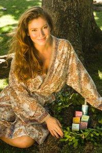 Soraia Zonta, idealizadora de linhas de cosméticos naturais, orgânicos e sustentáveis