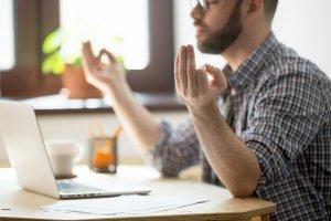 Meditação e produtividade no trabalho