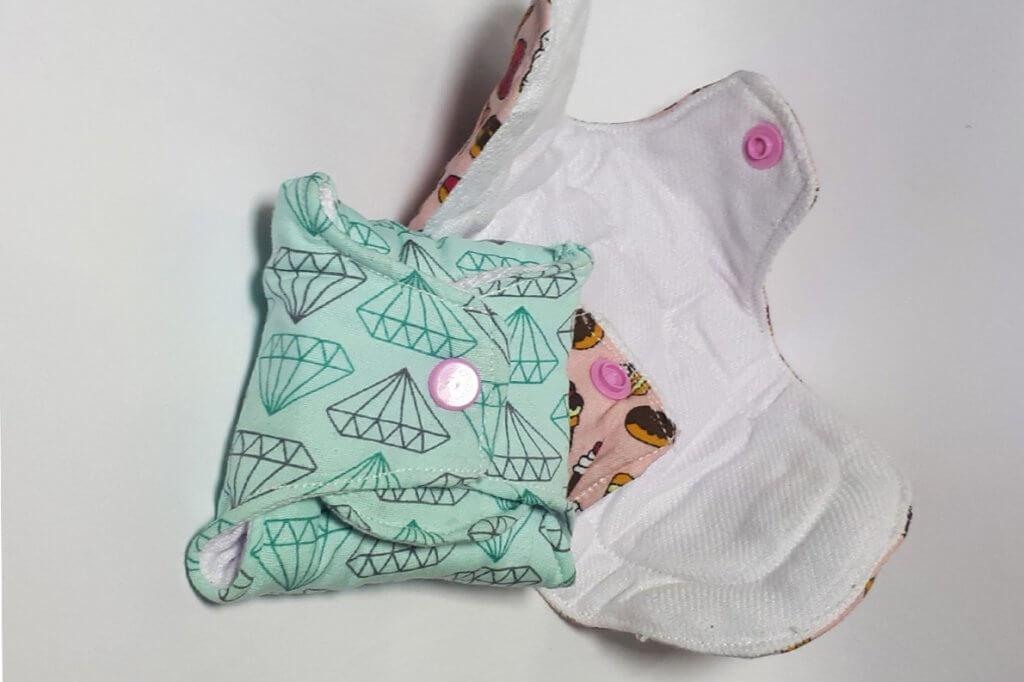 Coletor menstrual e absorvente de pano, como funcionam?