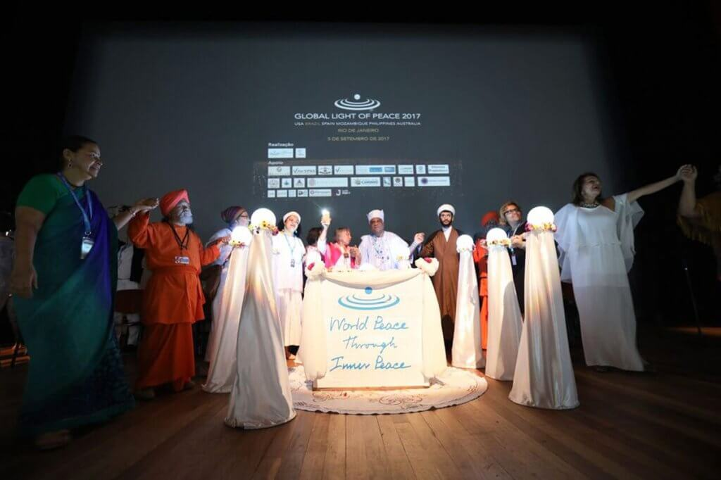 World Inner Peace Celebration: meditação pela paz mundial