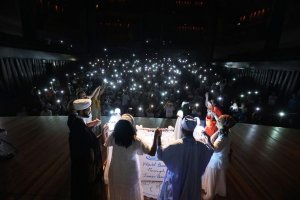 Evento global de meditação tem líderes religiosos juntos pela paz
