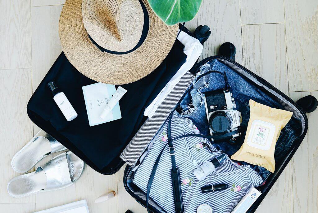 10 Dicas para montar uma mala de viagem prática