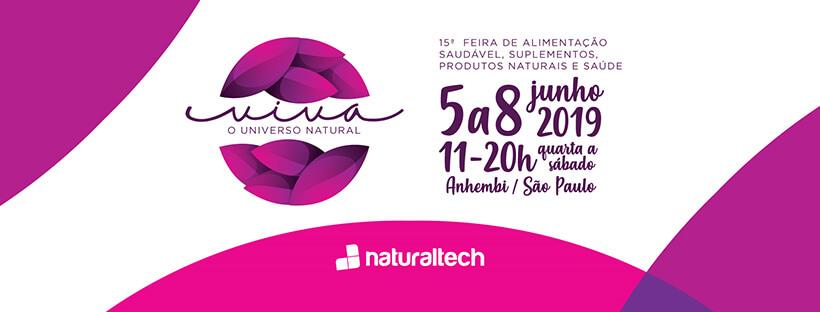 Naturaltech – 15ª Feira de Alimentação Saudável, Suplementos, Produtos Naturais e Saúde