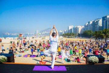 Dia Internacional do Yoga Movimenta a cidade do Rio de Janeiro