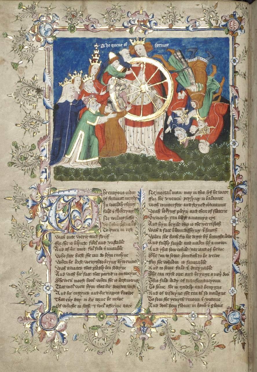 Roda da Fortuna de John Lydgate