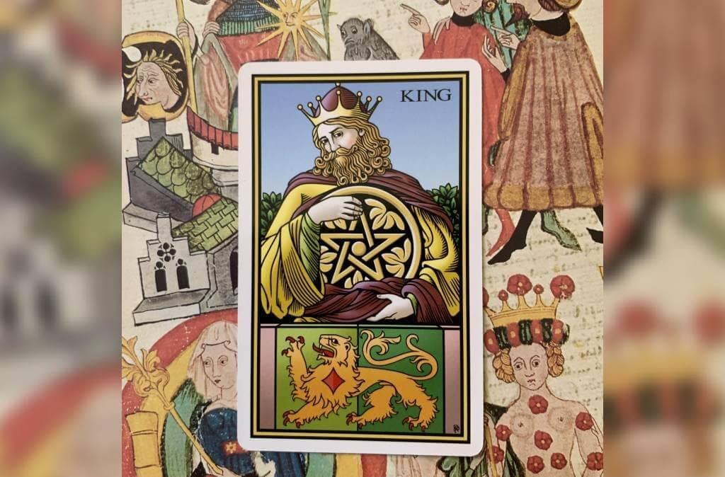 Rei de Ouros: arcano do mês para Sagitário