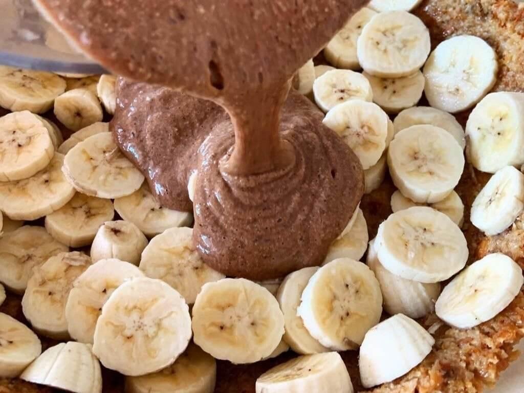 Receita com grãos germinados: torta viva de Primavera