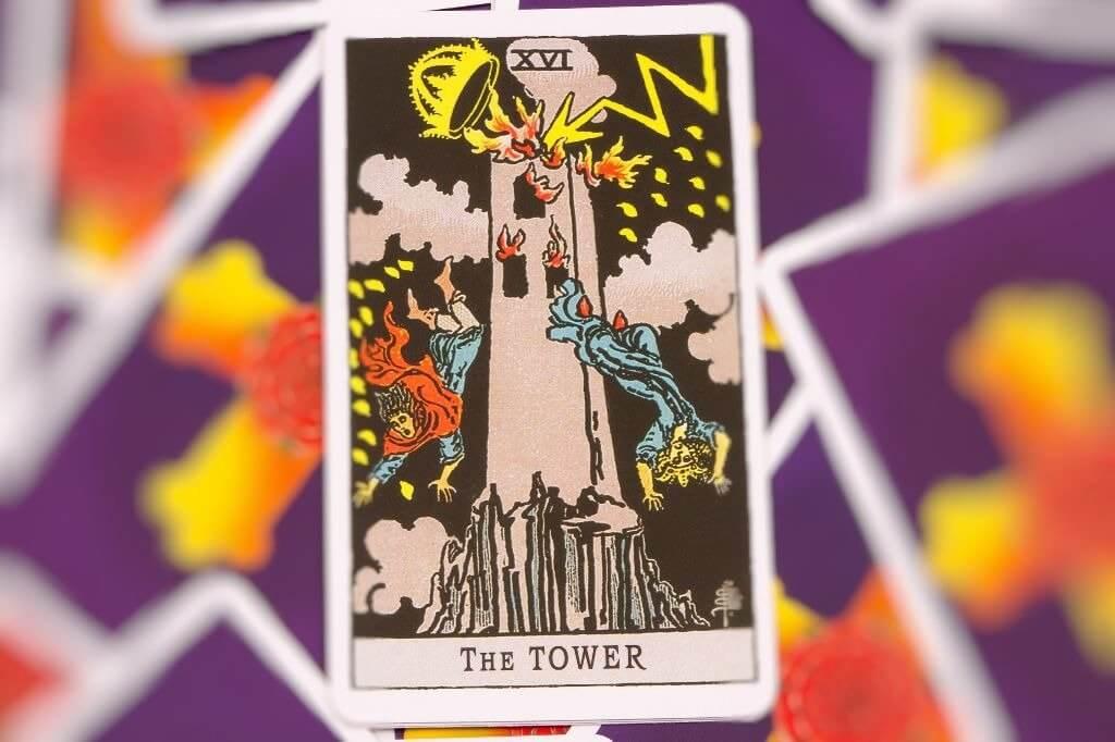 Previsões do Tarot para Fevereiro de 2020: Arcano A Torre