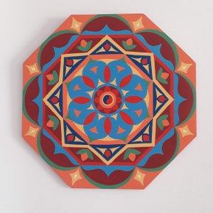 quadro com cores na quarentena