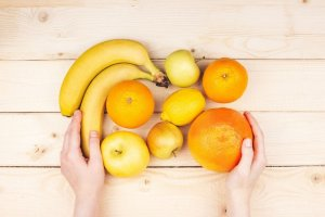 alimentos laranja e amarelo