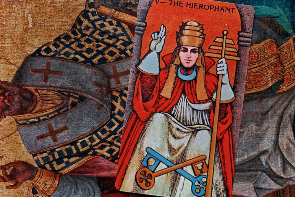 O Papa no Tarot