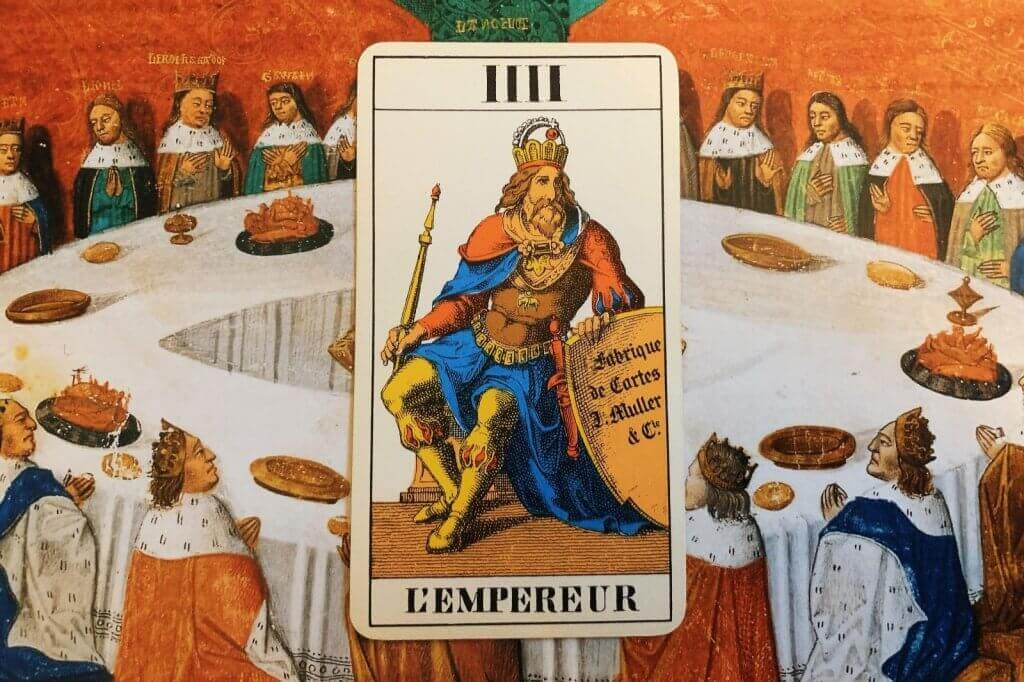 Carta do Tarot para abril de 2021: o Imperador