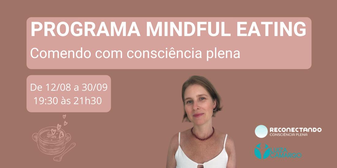 Programa de Mindful Eating – Comendo com consciência plena