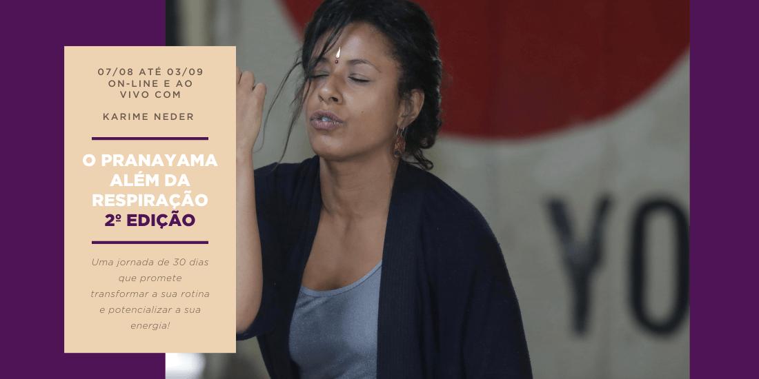 O Pranayama Além da Respiração