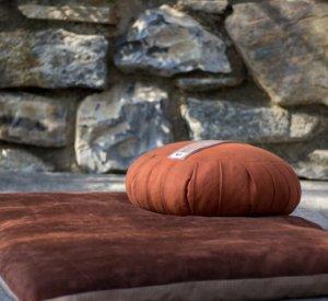 almofada meditação
