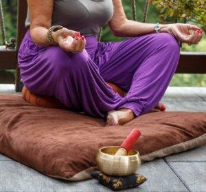 posição de meditação